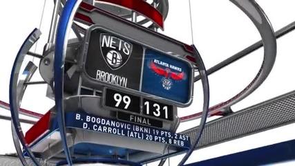 Какво се случи в НБА в съботната нощ