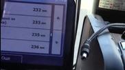 9часа и 49минути каране а по малко изминати километри
