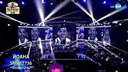 Йоана с разтърсващо изпълнение на Hurts - X Factor Live (12.11.2017)