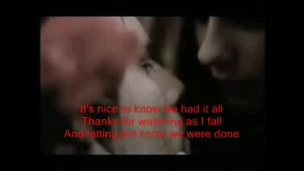 Avril Lavigne - My Happy Ending (lyrics)