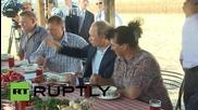 Русия: Путин се срещна с фермери за да обсъдят агрокултурния добив в Ростов