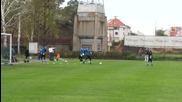 Левски почна подготовка за дербито без Везалов