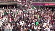 Невероятно! Flash Mob Dance Michael Jackson - Beat It