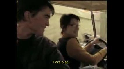 Robert Pattinson Cedric Diggory in Harry Potter 4 Dvd Extra - Legendado