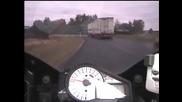Призрачен ездач - лудо преследване с полиция
