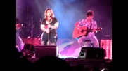 Kelly Clarkson Behind These Hazel Eyes Live Short Acoustic Version Champlain Valley Fair, Essex