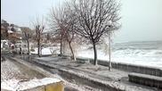 Зимата в Несебър