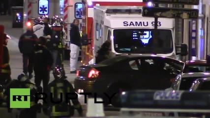 Полицейска акция срещу терористи в Париж