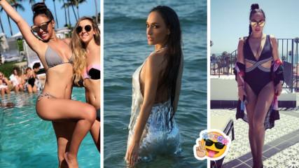 Мария Илиева събира тен и погледи по плажовете на Маями! И има защо!