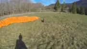 Dean Potter First Paraglide