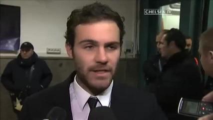 Chelsea Tv - Хуан Мата за мача с Наполи