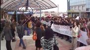 Митинг срещу кратката зимна ваканция Шумен
