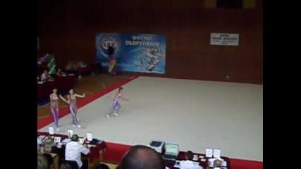 Акробатика - Темпо Тройка Цска 2010г.
