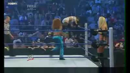 Wwe Smackdown 26/06/09 Michelle & Alicia vs Melina & Gail
