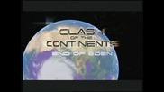 Сблъсък на континенти - Краят на Земния рай
