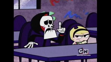billy and mandy gangster