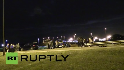 France: Undocumented migrants search for way through Channel Tunnel security