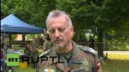 Германия: Въоръжените сили вдигат палатки за бежанците край Хамбург