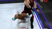 Wwe 12 Live Рей Мистерио срещу Кейн