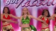 Индийски танц шашна журито в America s Got Talent 2009