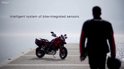 Вижте най-новия писък в системите за сигурността на мотористите от Ducati!