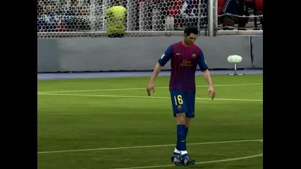 Fifa 12 - Fc Barcelona : Manchester United! Full Time