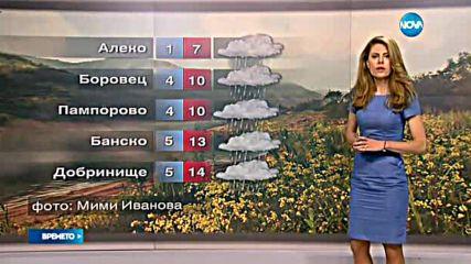 Прогноза за времето (21.05.2016 - обедна)