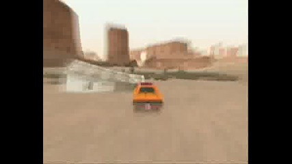 The Dukes Of Hazzard In Gta San Andreas
