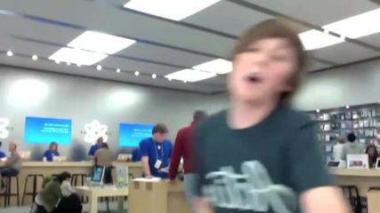 Apple Store Dance To Friday!