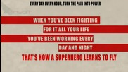 The Script - Superheroes (lyric Video)