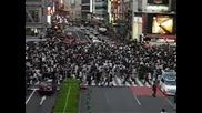 Пешеходна пътека в Япония