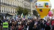 France: Thousands demonstrate in Paris against proposed labour reforms