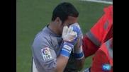 """""""Малага"""" измъкна точка в Севиля, но загуби вратар до края на сезона"""