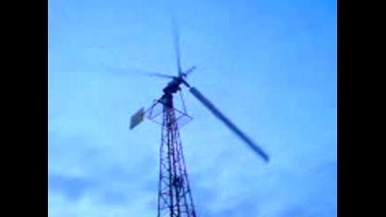 ветрогенератор wind turbine самоделка