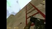 Пълен ламер си мисли че тва е стълба : D