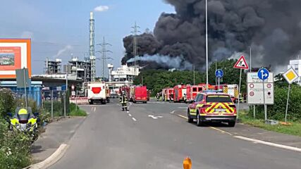 Germany: Explosion hits chemical complex in Leverkusen