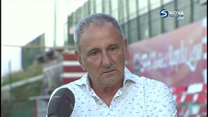 Никола Спасов: Можем да се гордеем с този мач
