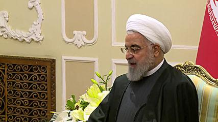 Iran: Rouhani meets Venezuelan FM Arreaza in Tehran