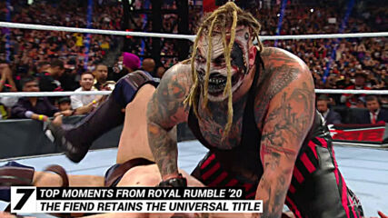 Top moments from Royal Rumble 2020: WWE Top 10, Jan. 27, 2021
