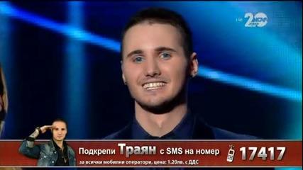Траян Костов - X Factor Live (18.11.2014)