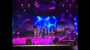 Teodora & Giorgos Giannias - Za Teb Jiveq / Auto Einai Erwtas (live @ Balkan Music Awards 2010) (hq)
