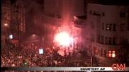 CNN - Протести В Сърбия Срещу Косово