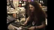 Dimebag Darrell Of Pantera On Drums (1993)