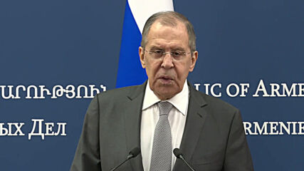 Armenia: Lavrov condemns EU's sanctions threat