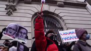 USA: Protesters call for Navalny's release outside NY Russian Consulate