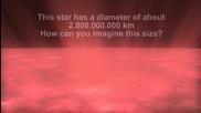 Планети, звезди и галактики - размери