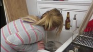 Cinnamon girl sink puke