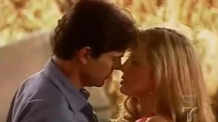 Amantes del desierto/любов в пустинята (2001 год.) - Еп.9-10 - първата целувка на Барбара и Андрес