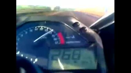Хонда цбр-макс.скорост2