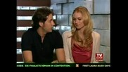 Zachary Levi & Yvonne Strahovski Tvguide Sexiest Stars Part1